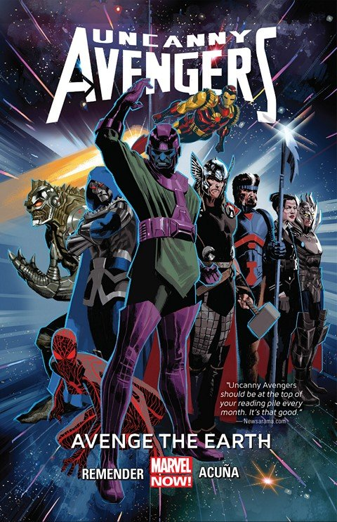 Uncanny Avengers Vol. 4 – Avenge The Earth