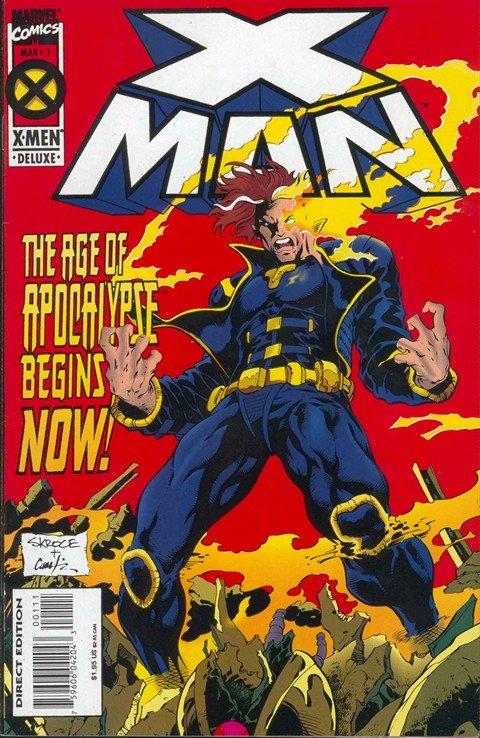 X-Man #1 – 75 + Annuals (1995-2001)