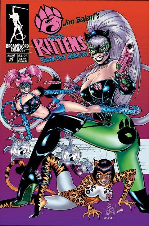 3 Little Kittens – Purrr-Fect Weapons #1 – 3