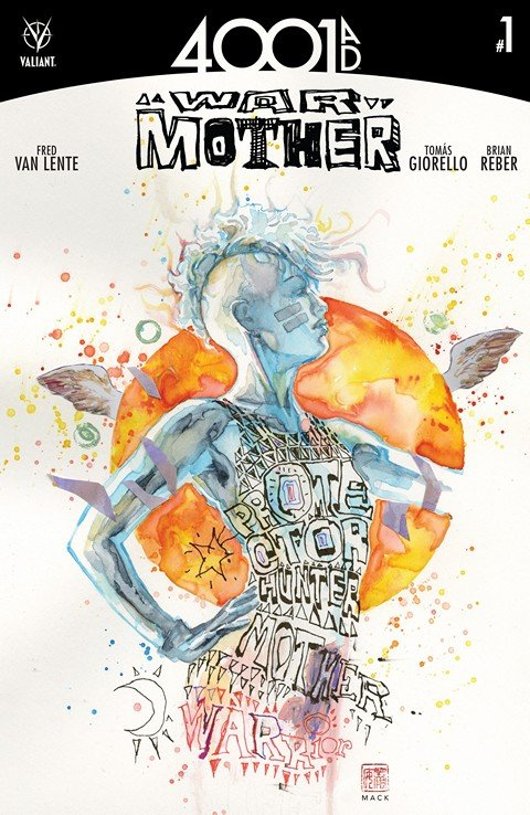 4001 A.D. – War Mother #1