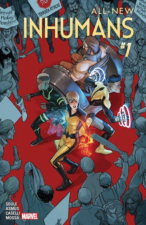 All-New Inhumans #1 – 10 (2016)