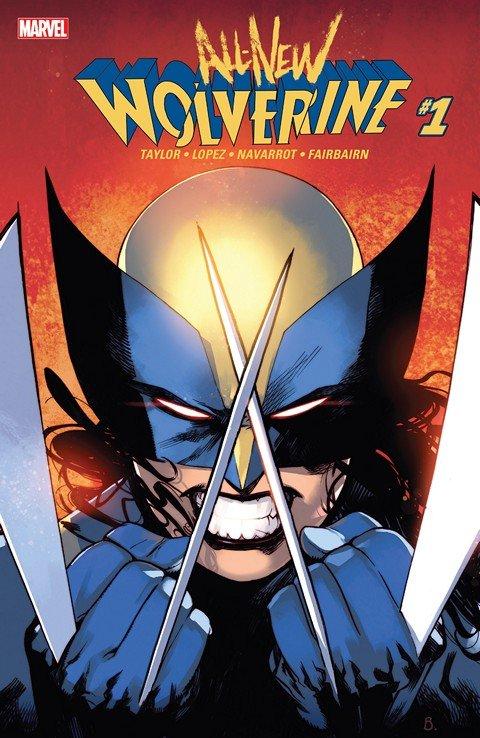 All-New Wolverine #1 – 27 + TPB Vol. 1 – 3 (2015-2017)