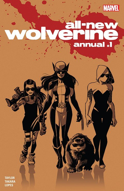 All-New Wolverine Annual #1 (2016)