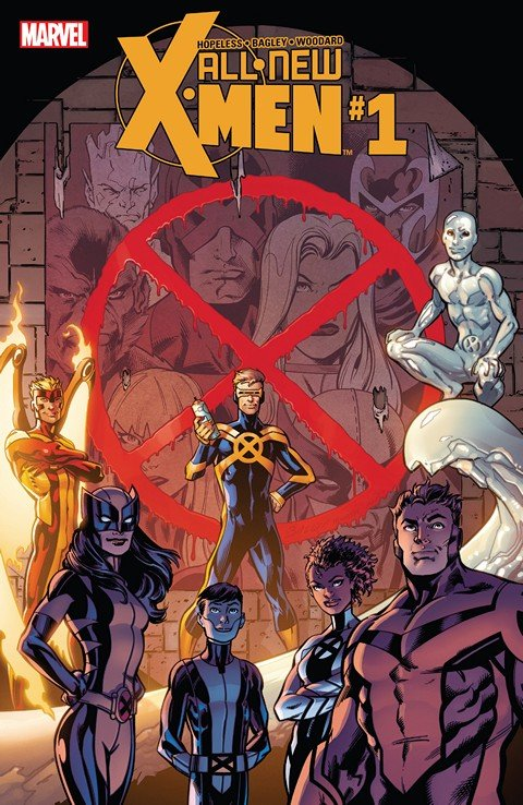 All-New X-Men #1 – 12 + TPB Vol. 1 (2016)