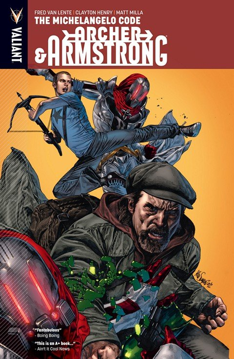 Archer & Armstrong Vol. 1 – The Michelangelo Code