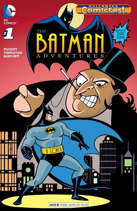 Batman Adventures #1 (Halloween Fest Special Edition)