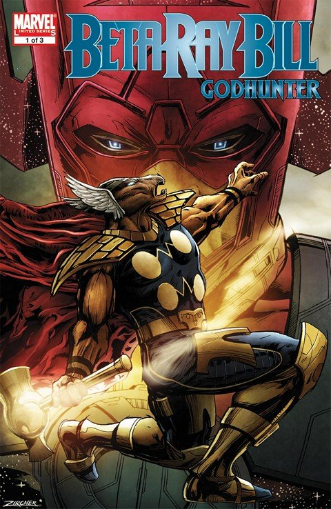 Beta Ray Bill – Godhunter #1 – 3