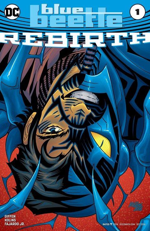 Blue Beetle – Rebirth #1 (2016)