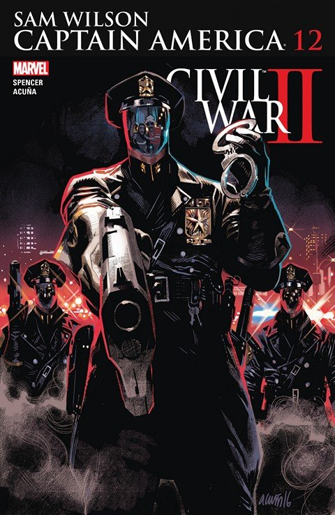 Captain America – Sam Wilson #12 (2016)