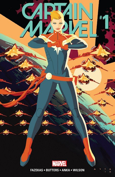Captain Marvel #1 – 8 (2016)