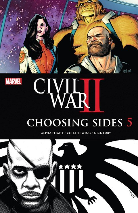 Civil War II – Choosing Sides #5 (2016)