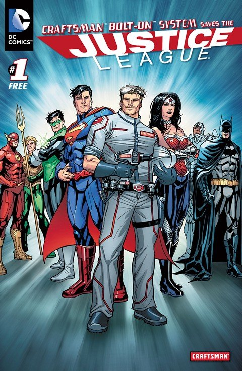 Craftsman Bolt-On Systems Save the Justice League