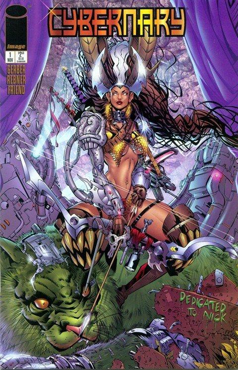 Cybernary #1 – 5 (1995)