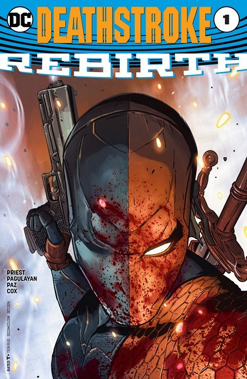 Deathstroke – Rebirth #1 (2016)