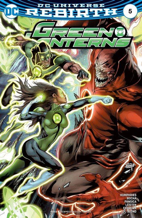 Green Lanterns #5 (2016)
