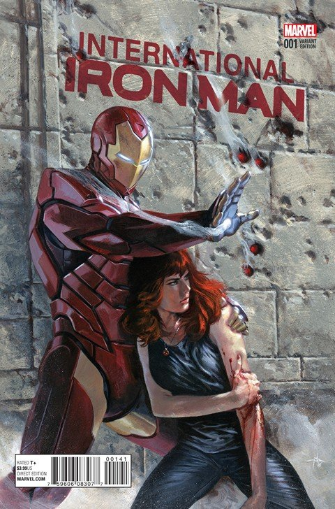 International Iron Man #1 – 6 (2016)