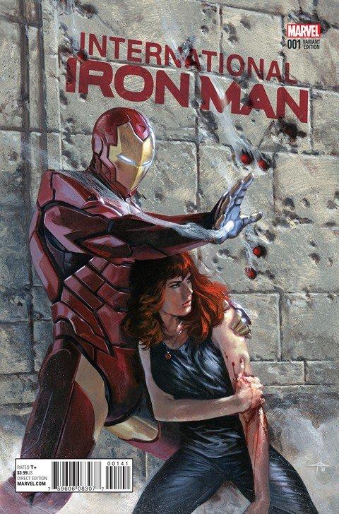 International Iron Man #1 – 6 (2016)