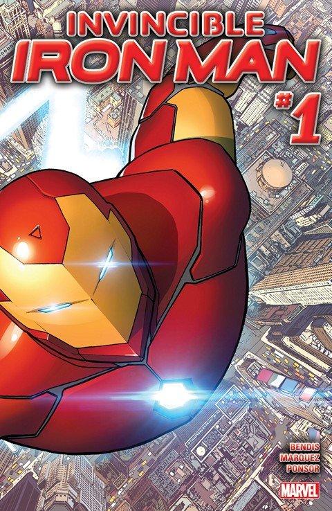 Invincible Iron Man #1 – 12 + TPB Vol. 1 (2015-2016)