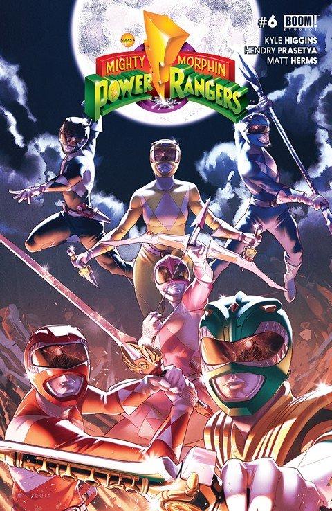 Mighty Morphin Power Rangers #6 (2016)