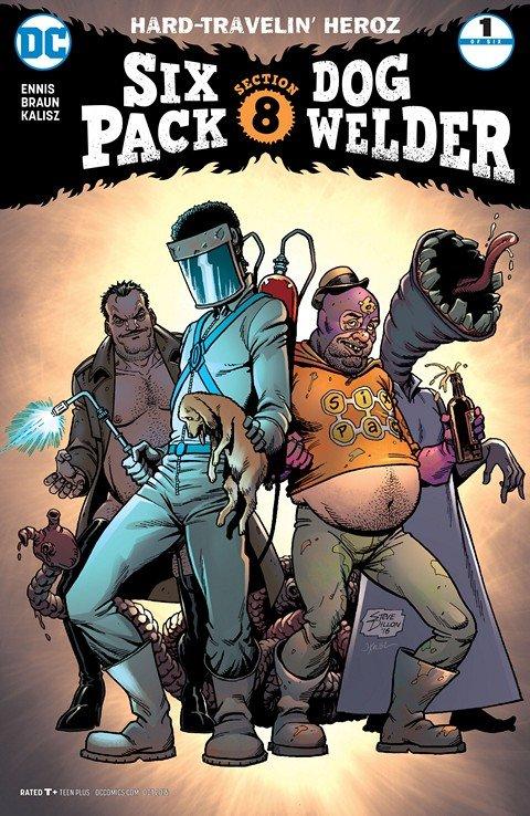 Sixpack and Dogwelder – Hard Travelin' Heroz #1 (2016)