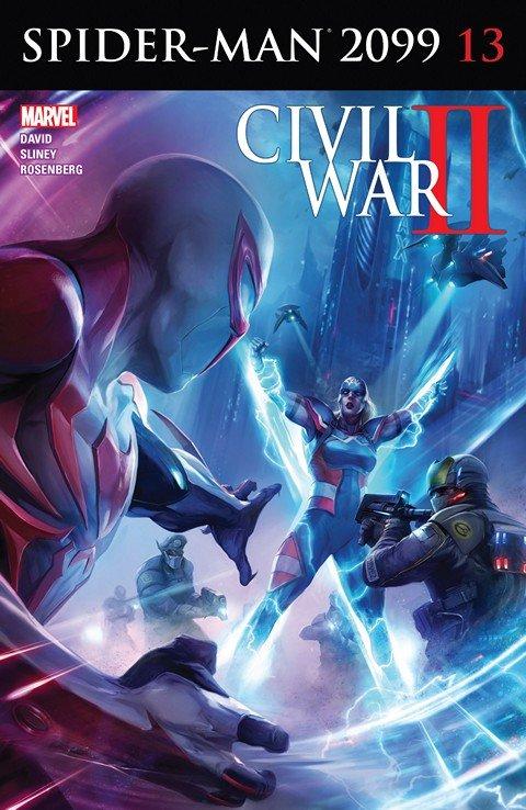 Spider-Man 2099 #13 (2016)