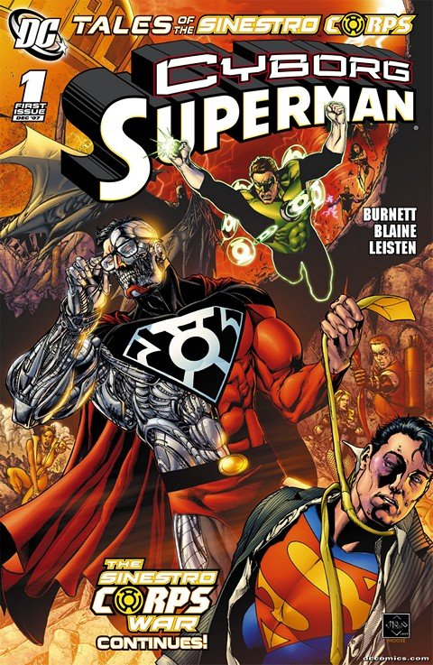 Tales of the Sinestro Corps Presents – Cyborg Superman (2007)