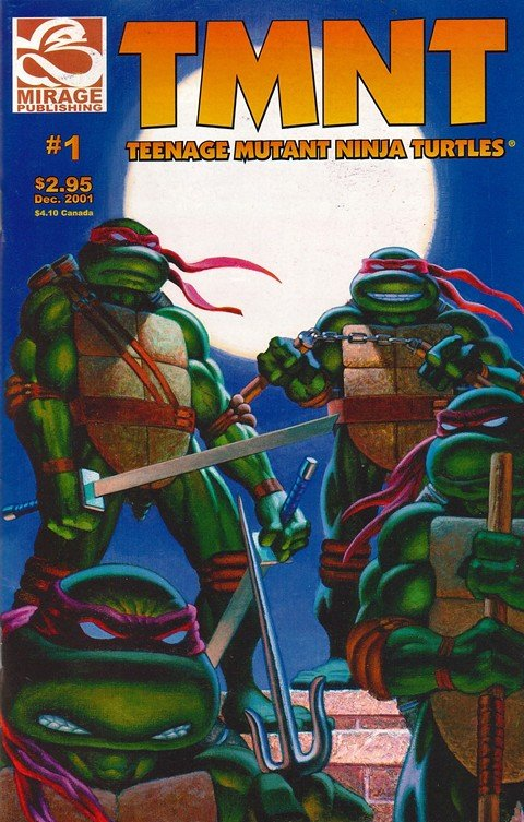 Teenage Mutant Ninja Turtles #1 – 29
