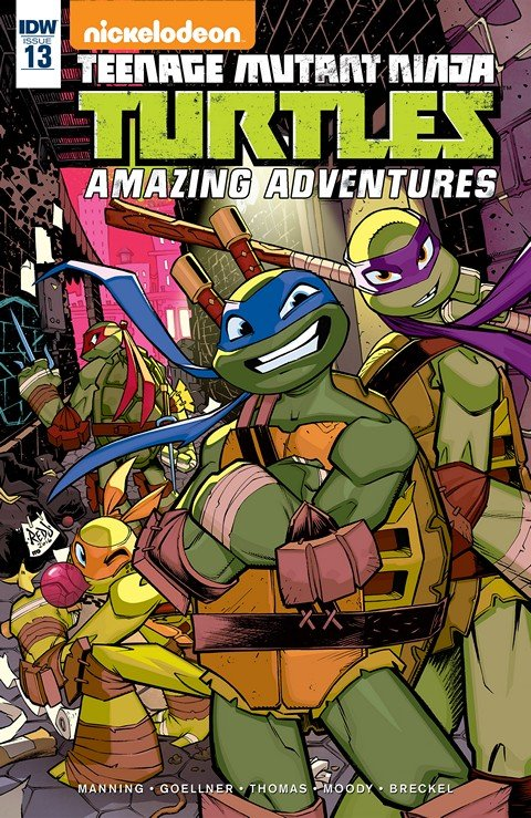 Teenage Mutant Ninja Turtles – Amazing Adventures #13