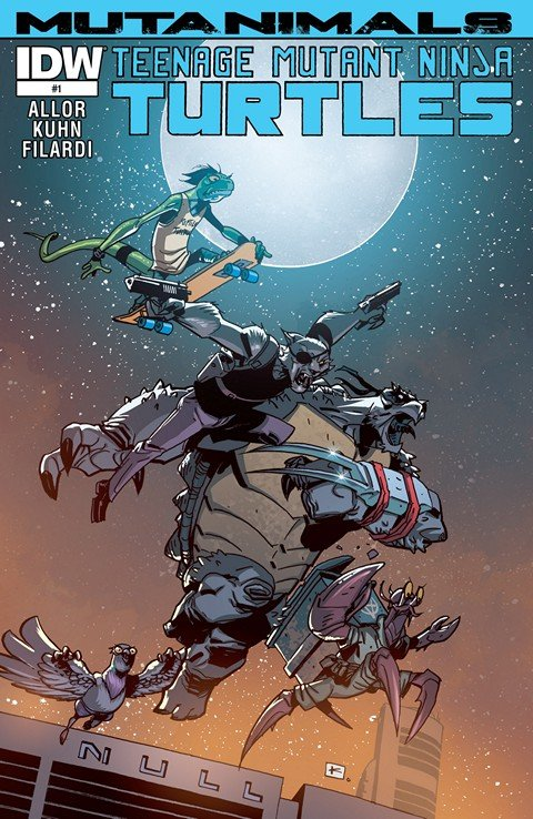 Teenage Mutant Ninja Turtles – Mutanimals #1 – 4 + TPB