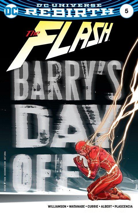 The Flash #5 (2016)