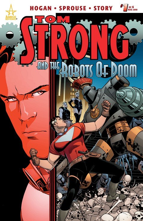 Tom Strong and the Robots of Doom #1 – 6