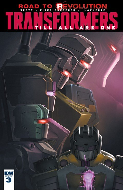 Transformers Till All Are One #3 (2016)