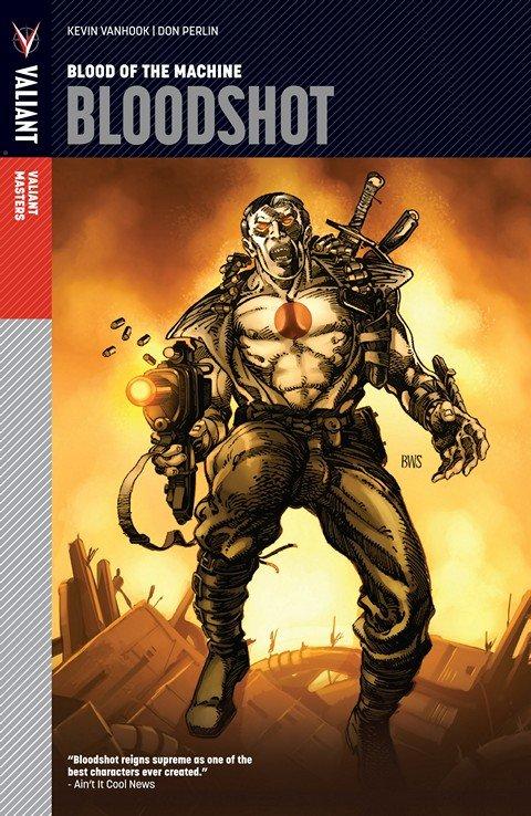 Valiant Masters – Bloodshot Vol. 1 – Blood of the Machine (2012)