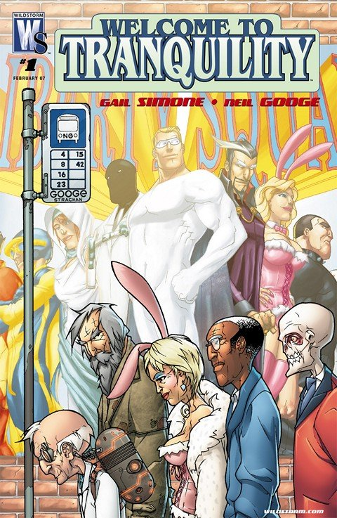 Welcome To Tranquility #1 – 12 (2007-2008)
