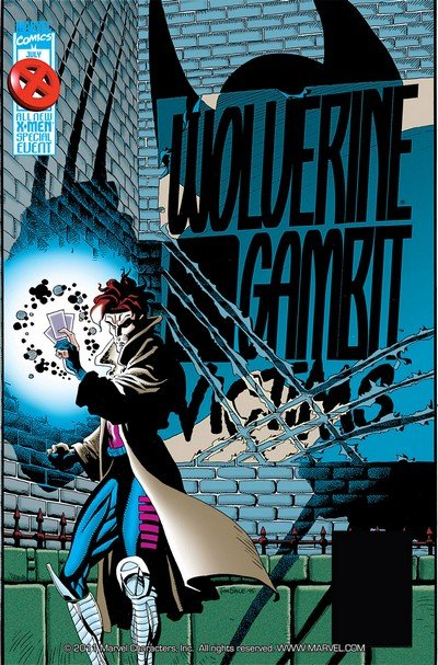 Wolverine & Gambit – Victims #1 – 4 (1995)