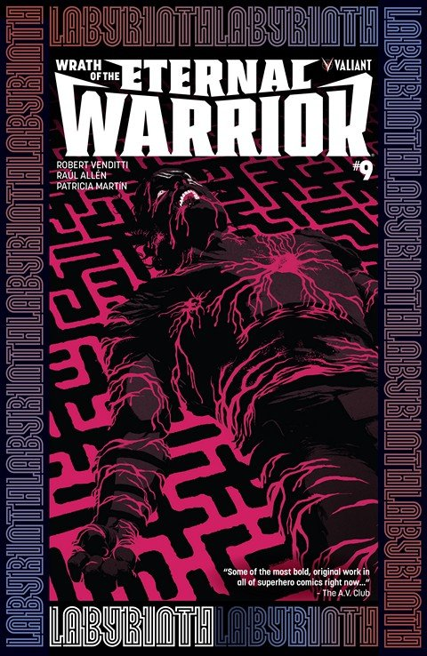 Wrath Of The Eternal Warrior #9 (2016)