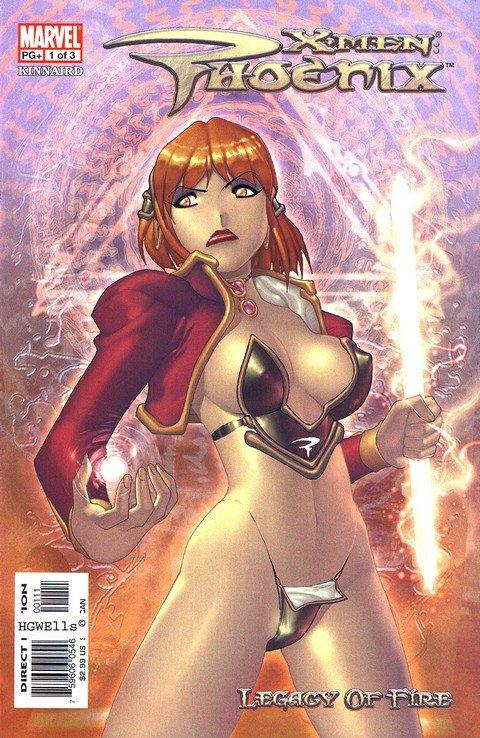 X-Men Phoenix Legacy of Fire #1 – 3 (2003)