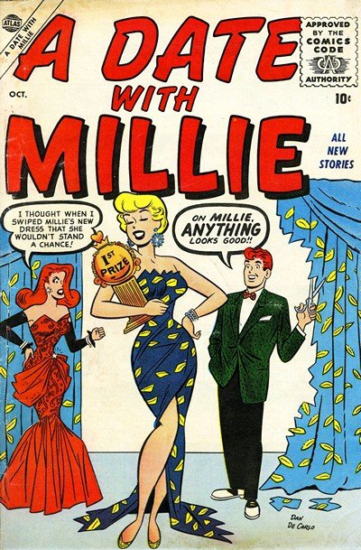 A Date with Millie Vol. 1 #1 – 7 (1956-1957)
