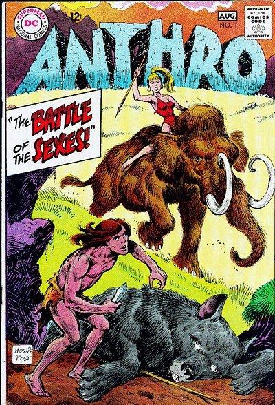 Anthro #1 – 6 (1968-1969)