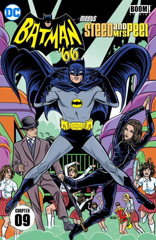Batman '66 Meets Steed and Mrs Peel #9 (2016)