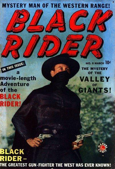 Black Rider #8 – 27 (1950-1955)