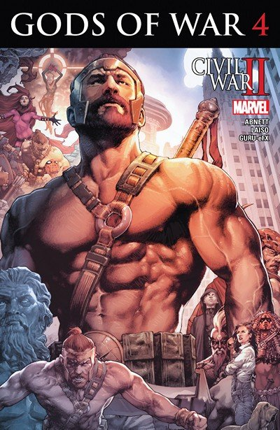 Civil War II – Gods of War #4 (2016)