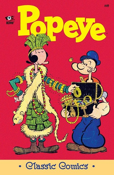 Classic Popeye #49 (2016)