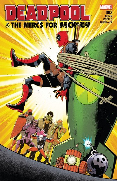 Deadpool & the Mercs for Money #3 (2016)