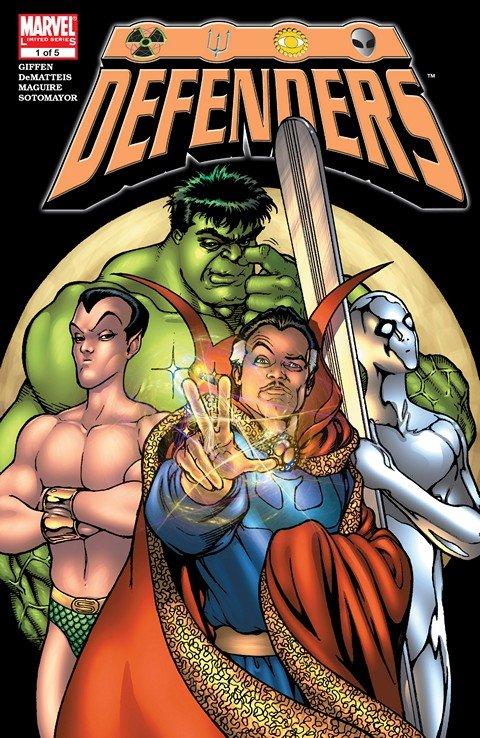 Defenders #1 – 5 + TPB (2005-2007)