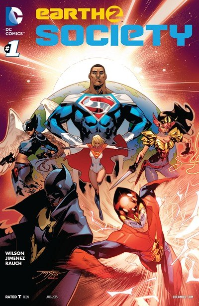 Earth 2 – Society #1 – 22 + Annual #1 (2015-2017)