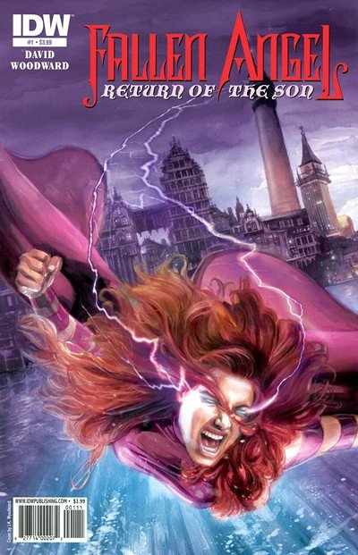 Fallen Angel – Return of the Son #1 – 4 (2011)
