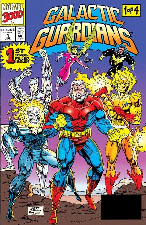 Galactic Guardians #1 – 4 (1994)
