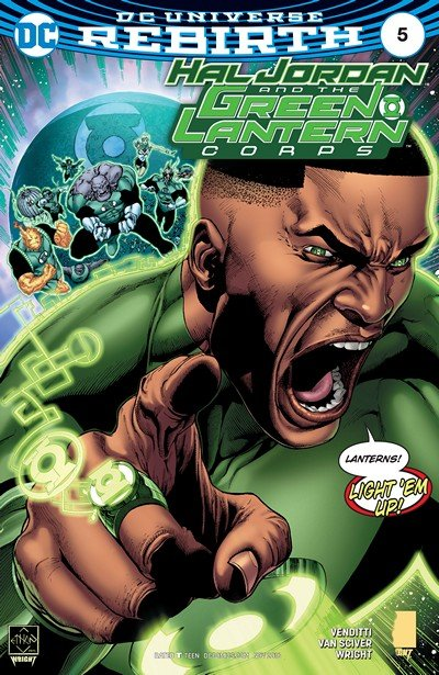 Hal Jordan and the Green Lantern Corps #5 (2016)