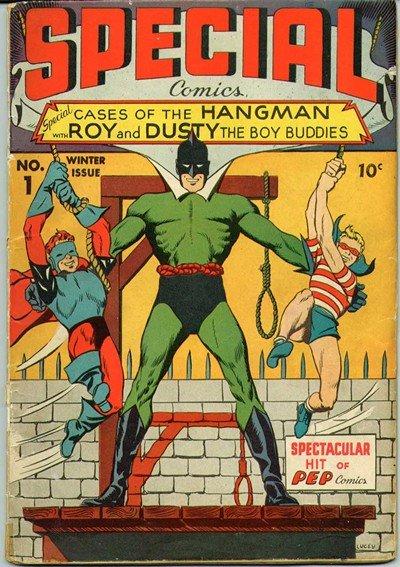 Hangman Comics #1 – 8 (1941-1943)